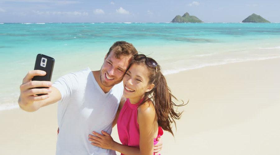 honeymoon couple selfie muthaiga travel
